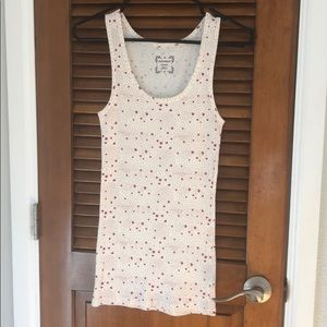 Old navy tank top with stars